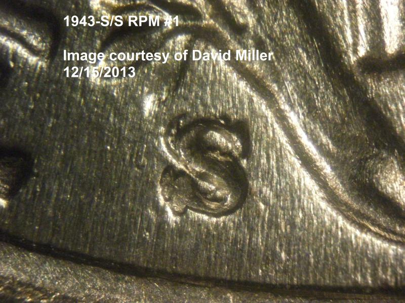 David Miller provided a closeup of the 1943-S/S RPM